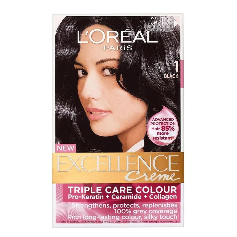 رنگ موی اورئال اکسلانس، مشکی 1