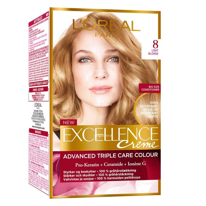 رنگ موی اورئال اکسلانس، بلوند روشن 8