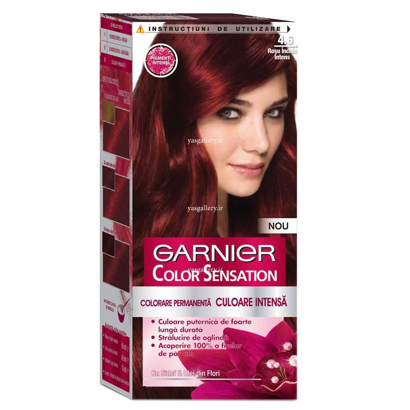 رنگ موی گارنیه کالر سنسیشن، قرمز تیره براق 4.60