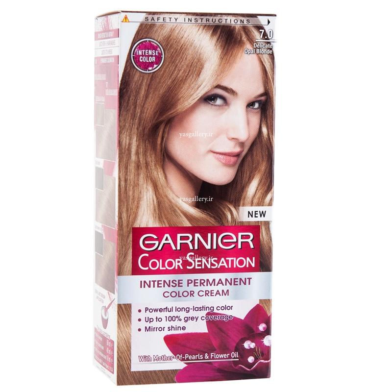 رنگ موی گارنیه کالر سنسیشن، بلوند براق 7.0