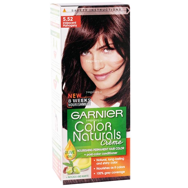 رنگ موی گارنیه کالر نچرالز، ماهاگونی 5.52