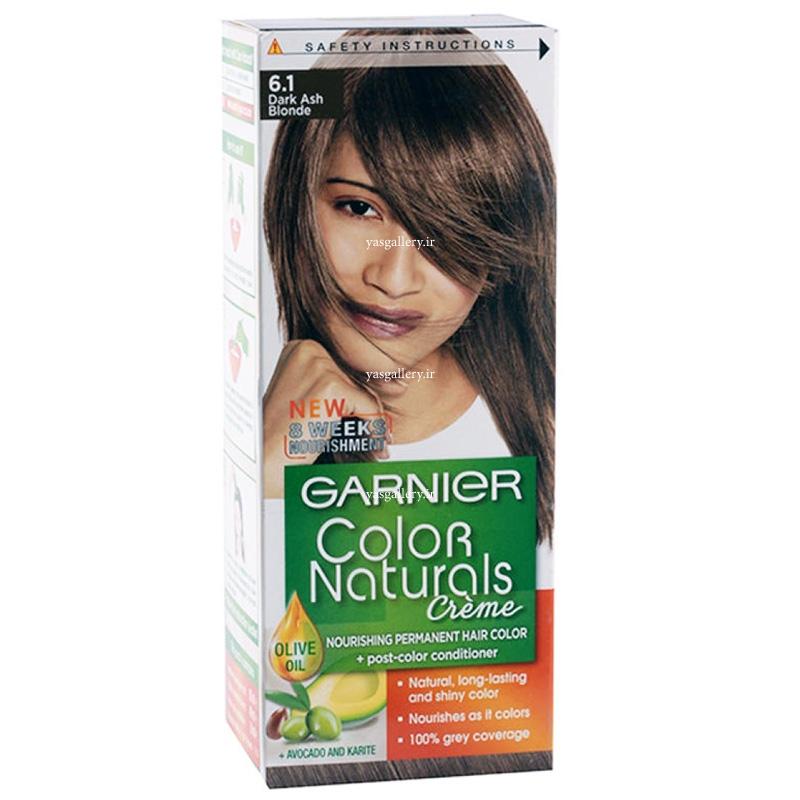 رنگ موی گارنیه کالر نچرالز، بلوند تیره خاکستری 6.1