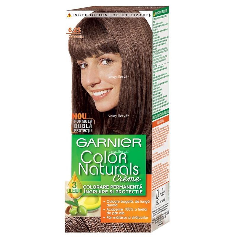 رنگ موی گارنیه کالر نچرالز، قهوه ای بلوطی 6.25