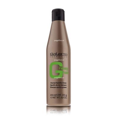 شامپو سالرم، برای موهای چرب Salerm Shampoo For Greasy Hair