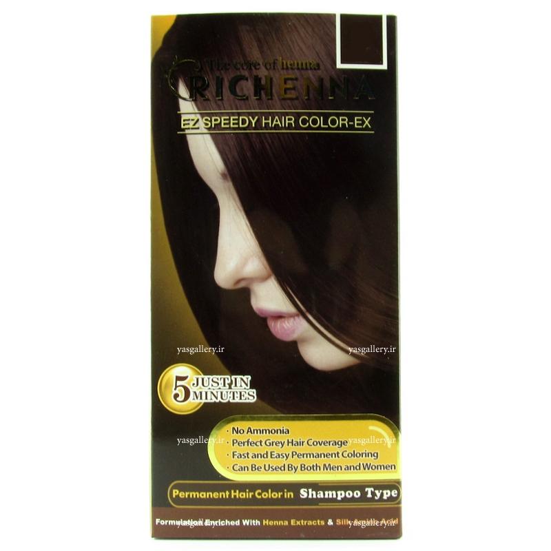 رنگ موی ریچنا، زنانه